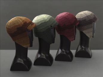 Driving helmets, Sonia Delaunay  © E. Emo et St. Piera / Galliera / Roger-Viollet