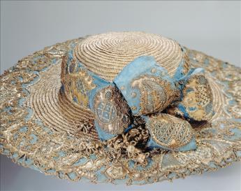Hat, c. 1770 © Philippe Joffre / Galliera / Roger-Viollet