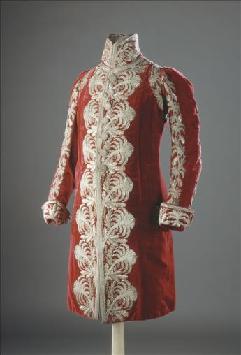 view of a coat of a Grand Marshal of the Palace