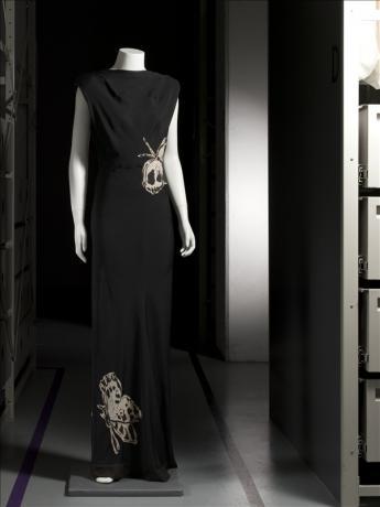 vue d'une robe du soir, Elsa Schiaparelli