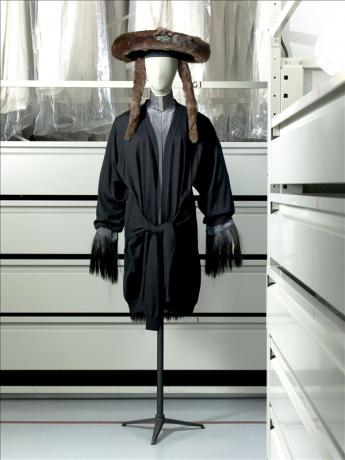 Ensemble dress, tunic & hats, Jean Paul Gaultier © Eric Emo / Galliera / Roger-Viollet