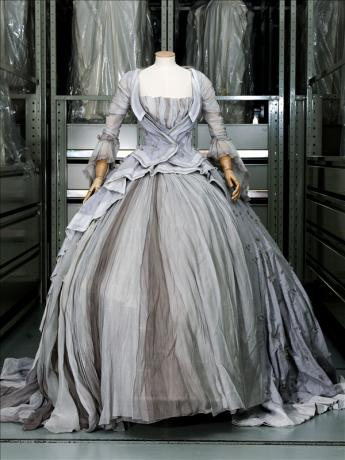 View of the 'Marie Antoinette' dress