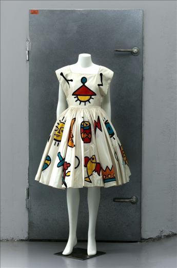 View of the 'Calypso' Dress, Jean-Charles de Castelbajac