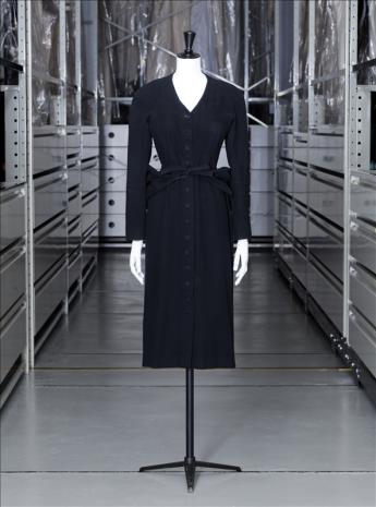 view of the dress, Balenciaga