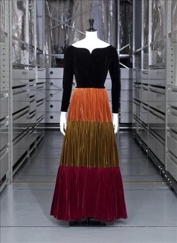 vue de la robe de dîner, Jacques Griffe