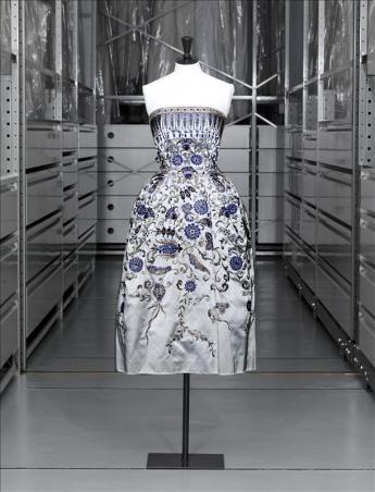 """vue de la robe """"Palmyre"""", Christian Dior"""