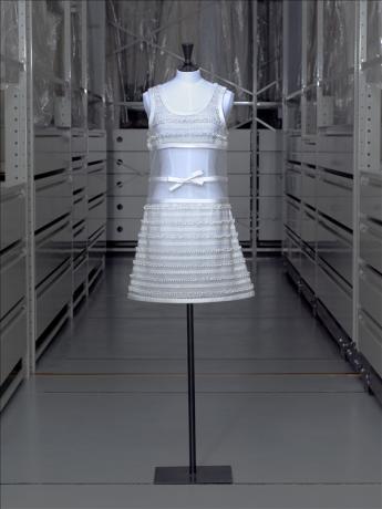 vue de l'ensemble robe et culotte, Courrèges