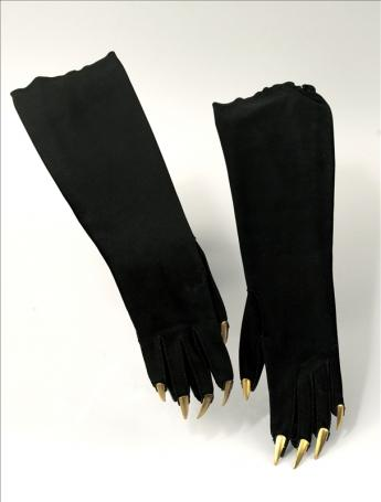 View of the 'Claws' gloves