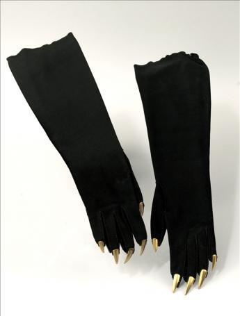 """vue des gants """"griffes"""""""