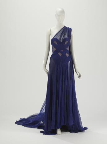 """""""Bluebird"""" gown, Gaultier Paris"""