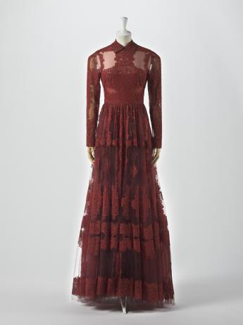 Evening dress, Valentino by Pierpaolo Piccioli and Maria Grazia Chiuri