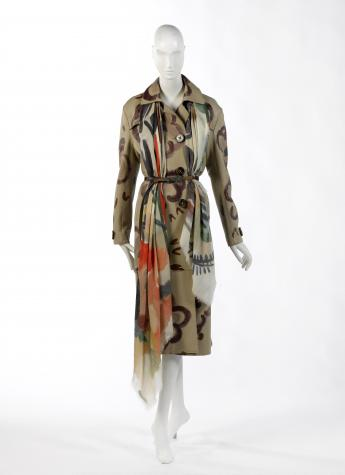 Ensemble Burberry Prorsum par Christopher Bailey