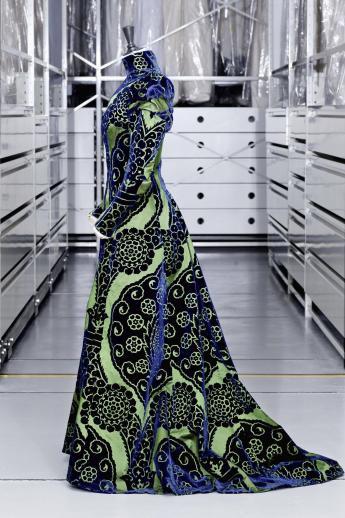 Tea-gown, Worth © Eric Emo / Paris Musées, Palais Galliera