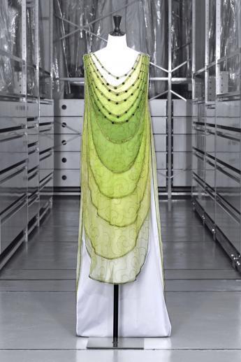 Robe du soir Madeleine Vionnet © Eric Emo / Paris Musées, Palais Galliera