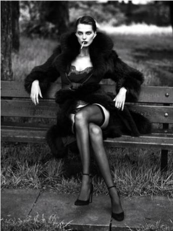 'Daria Werbowy' par Mert Alas & Marcus Piggott © Mert Alas & Marcus Piggott