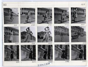 """""""Paris fashion"""", by Jean Moral © Jean Moral / Paris Musées, Palais Galliera"""