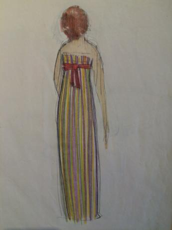 """Notebook of """"Paul Poiret gowns"""", by Paul Iribe © Paul Iribe and Paul Poiret / Galliera"""