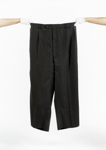 """""""Oversize"""" trousers, Martin Margiela © Azentis"""