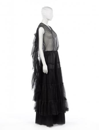 Robe  « artisanale », Martin Margiela. © Françoise Cochennec / Galliera / Roger-Viollet